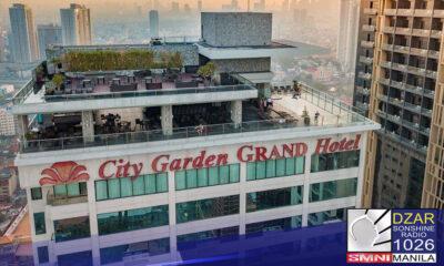 Binawi na ng Department of Tourism (DOT) ang permit to operate ng City Garden Grand Hotel sa Makati City, ang hotel kung saan huling nakitang buhay si Christine Dacera.