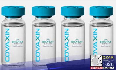 Nag-apply na ang India-based Bharat Biotech para sa Emergency Use Authorization (EUA) ng kanilang COVID-19 vaccine na Covaxin.
