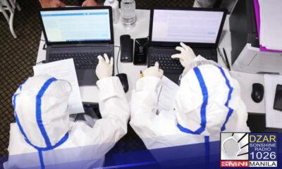 Kinumpirma ng Department of Heath at ng Philippine Genome Bio surveillance na sila ay naka detect ng UK variant ng COVID-19 sa bansa.