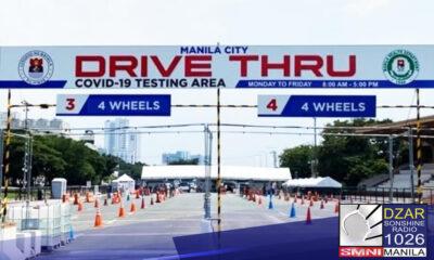Pumalo na sa 7 ang nagpositibo sa COVID -19 test simula inilunsad ng lokal ng pamahalaan ng Maynila ang libreng drive thru RT-PCR test sa Quirino grandstand noong Lunes.