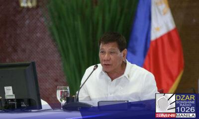 Suportado ni Pangulong Rodrigo Duterte ang pagkalas ni DND Secretary Delfin Lorenzana sa 1989 University of the Philippines (UP)-Department of National Defense (DND) accord.