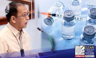 Nagkaayos at nagkaintindihan na sina Vaccine Czar Carlito Galvez Jr. at Sen. Panfilo Ping Lacson pagdating sa ilang issue patungkol sa vaccination road map ng pamahalaan para malabanan ang COVID-19.