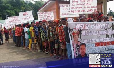 Indigenous people ang target ng mga makakaliwang grupo nitong nagdaang dalawang taon.