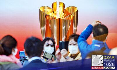 Muling naipagpaliban ang Tokyo Olympics Torch Exhibition na nakatakda sanang idaos ngayong linggo dahil sa mulig pagkalat ng COVID-19 pandemic.