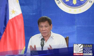 Pormal nang binuksan ni Pangulong Rodrigo Duterte ang National Sports Summit 2021 sa isang virtual ceremony.