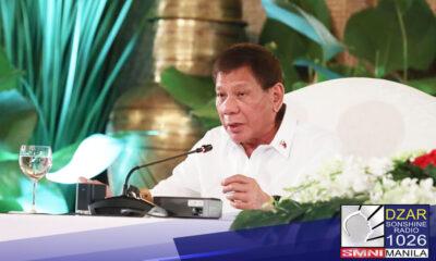 Ipinangako ni Pangulong Rodrigo Duterte na kanyang itataguyod ang human rights at social welfare sa Bangsamoro Autonomous Region in Muslim Mindanao (BARMM).