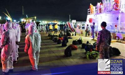 Na-rescue ng Philippine Coast Guard (PCG) ang 34 seafarers mula sa isang Korean fishing vessel na inabandona matapos masira ng masunog ang kanilang engine room sa karagatang sakop ng Panganiban, Catanduanes.