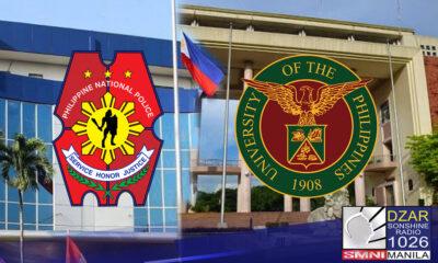 Ipinagbabawal ding makapasok sa bisinidad ng University of the Philippines (UP) ang hanay ng Philippine National Police (PNP).