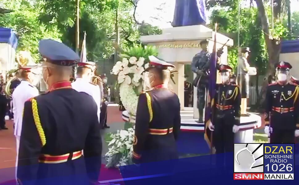 Ginunita ngayong araw ang kabayanihan ng SAF 44, ang mga miyembro ng PNP-Special Action Force na napatay sa anti-terror raid sa Mamasapano, Maguindanao noong January 25 taong 2015.