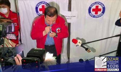 Sinimulan na ngayong araw ng Martes ng Philippine Red Cross ang pilot testing ng COVID-19 saliva test.
