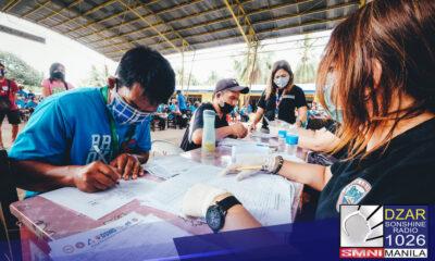 Nakatanggap na ng tulong mula sa Department of Social Welfare and Development (DSWD) ang halos 100% ng mga benepisyaryo ng Social Amelioration Program (SAP).
