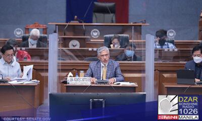 Walang politika sa isinasagawang pagdinig ng Senado kaugnay sa COVID-19 vaccination plan ng gobyerno.