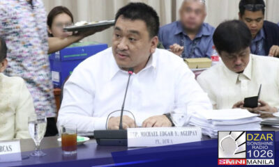 Humingi ng tawad kay Pangulong Rodrigo Duterte si House Committee on Good Government and Public Accountability Chairman at DIWA Party-list Rep. Michael Edgar Aglipay matapos magkaroon ng pansamantalang suspensyon sa imbestigasyon hinggil sa loan condonation o write-off ng Development Bank of the Philippines (DBP) pabor sa Lopez Group of Companies.