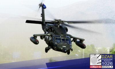 Sana'y ipagpatuloy ng susunod na administrasyon ang pagbili ng black hawk helicopters ng Department of National Defense (DND).