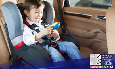 Pinarerepaso ni Muntinlupa Rep. Ruffy Biazon ang implementing rules and regulations o IRR ng Republic Act 11229 o Child Safety in Motor Vehicles Act.