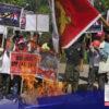 Binawi ng 5 miyembro ng Liga ng Manggagawang Bukid ang suporta nila sa CPP-NPA front organizations sa Barangay Pacac, Guimba, Nueva Ecija.