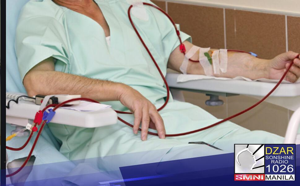 Isinusulong ni Senator Risa Hontiveros na maging 100% free ang lahat ng senior citizens na nangangailangang sumailalim sa dialysis.