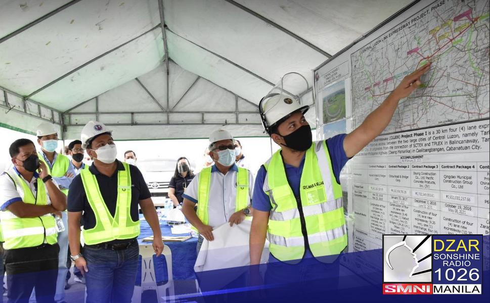 Bubuksan na ang isang bahagi ng Central Luzon Link Expressway (CLLEX) simula May 15, 2021.