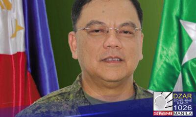 Lt. Gen. Jose Faustino, itinalagang acting Commanding General ng Phil. Army
