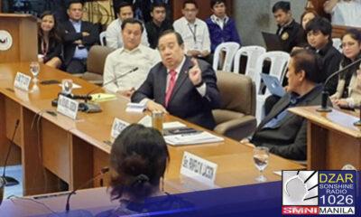 Naglunsad ang senate blue ribbon committee ng isang online complaint desk para sa may mga reklamo sa mabagal at kora na serbisyo ng (LTO).