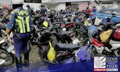 Na-impound ng Philippine National Police - Highway Patrol Group (PNP-HPG) ang 1,427 mga sasakyan at motorsiklo at nakumpiska ang 371 na illegal accessories.