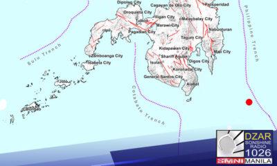 Niyanig ng 5.6 magnitude na lindol ang Davao Oriental ayon sa Philippine Institute of Volcanology and Seismology dakong 8:00 ng umaga.
