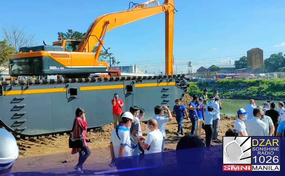 Uumpisahan na ngayong araw ng Department of Environment and Natural Resources (DENR) ang dredging activities sa Marikina River.