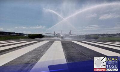Muli nang magagamit ang runway 13/31 sa Ninoy Aquino International Airport (NAIA).