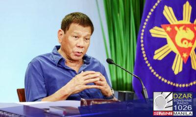 May babala si Pangulong Rodrigo Duterte sa Communist Party of the Philippines-New People's Army (CPP-NPA) na huwag manggulo sakaling simulan na ang pamamahagi ng bakuna laban sa COVID-19.