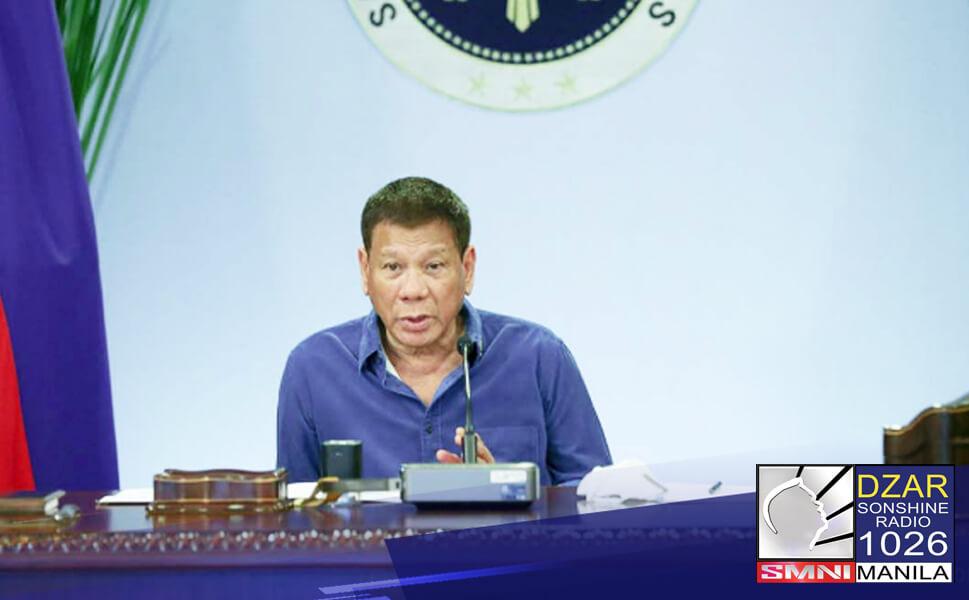 Ipinag-utos ni Pangulong Rodrigo Duterte na pansamantalang gamitin muna ang mga gusali ng pampublikong paaralan bilang vaccination sites para sa COVID-19.