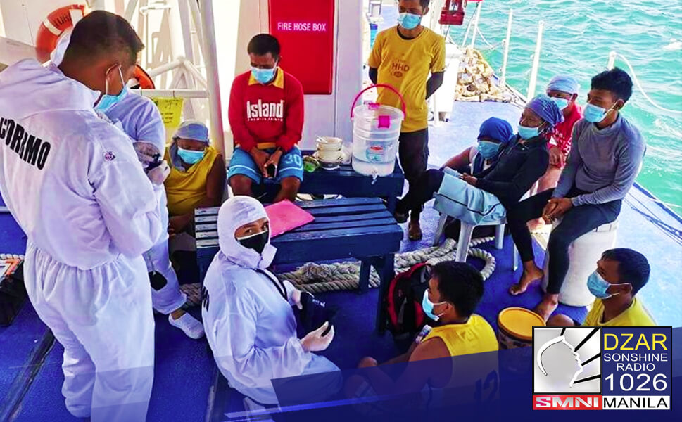 Nasagip ng mga tauhan ng Philippine Coast Guard (PSG) ang 15 mangingisda na ilang araw nang pinaghahanap matapos lumubog ang kanilang sinasakyang bangka sa Surigao sa gitna ng pananalasa ng bagyong 'Auring.