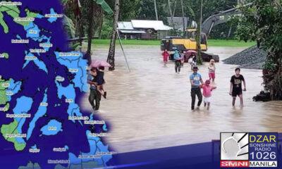 Nakataas ngayon sa signal number 1 ang ilang lalawigan sa Luzon partikular na sa Sorsogon, Masbate, Albay, Catanduanes, at ang Silangang bahagi ng Camarines Sur dahil sa bagyong Auring.