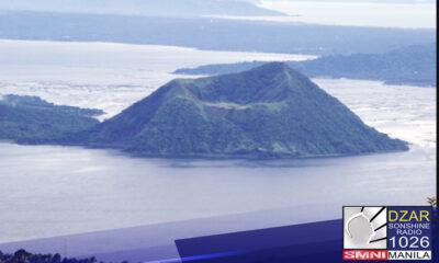 Nakapagtala ng mas marami pang tremor activities ang PHIVOLCS sa Taal Volcano sa nakalipas na 24 na oras.