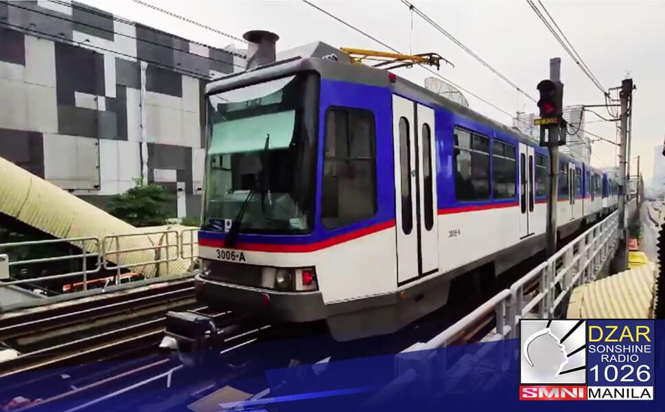 Tumatakbo na ang anim na general overhauled Light Rail Vehicles (LRVs) sa linya ng MRT-3.