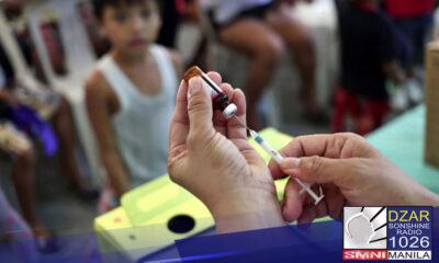 Iginiit ng National Task Force Against COVID-19 na walang magiging epekto sa vaccination program ng Pilipinas ang hindi na pagtanggap ng order ng bakuna ng ilang pharmaceutical companies.
