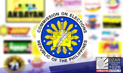 Inamin ng Commission on Elections (COMELEC) na ikinokonsidera nila na tanggalin na sa listahan ang 39 na party-list organizations bago sumapit ang May 9, 2022 National at Local Elections.