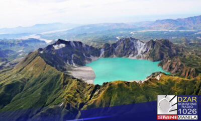 Mula sa alert level 0, itinaas na ng Philippine Institute of Volcanology and Seismology (PHIVOLCS) sa alert level 1ang alert status ng Bulkang Pinatubo sa Central Luzon.