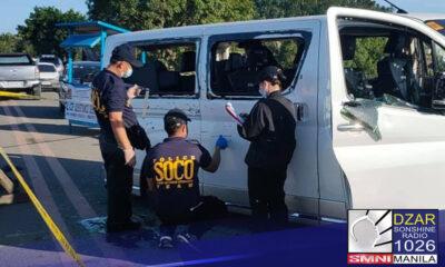 Nakapagbigay na ng affidavit ang mga pulis na sangkot sa insidente sa Calbayog City, Samar.