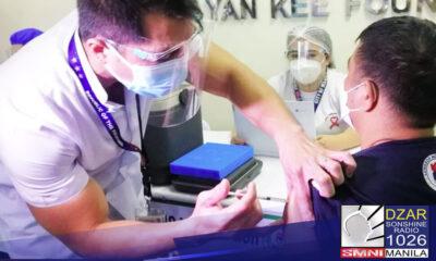 Mahigit 1,200 health workers ng Vicente Sotto Medical Center (VSMC) sa Cebu City ang nakatakdang makatanggap ng bakuna kontra COVID-19.