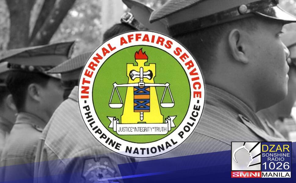 Sinibak na sa puwesto ang hepe ng legal affairs division ng Philippine National Police-Internal Affairs Service (PNP-IAS) sa Central Luzon.