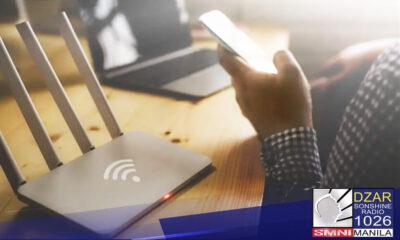 """Iginiit Senador Win Gatchalian na dapat maabot ng internet ang bawat barangay para mawakasan ang """"digital divide"""" sa bansa."""