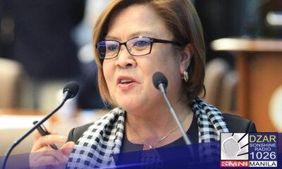 """""""Hindi ako susuko, tuloy ang laban""""Ito ang inihayag ni Senador Leila De Lima kasabay ng pagkumpirma na muli siyang tatakbo sa pagkasenador"""