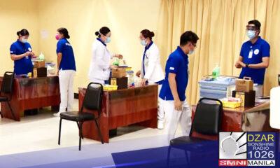 All set na ang pagsisimula ngayong Lunes ng COVID-19 vaccination sa Lung Center of the Philippines na isa sa mga referral hospital para sa COVID-19.
