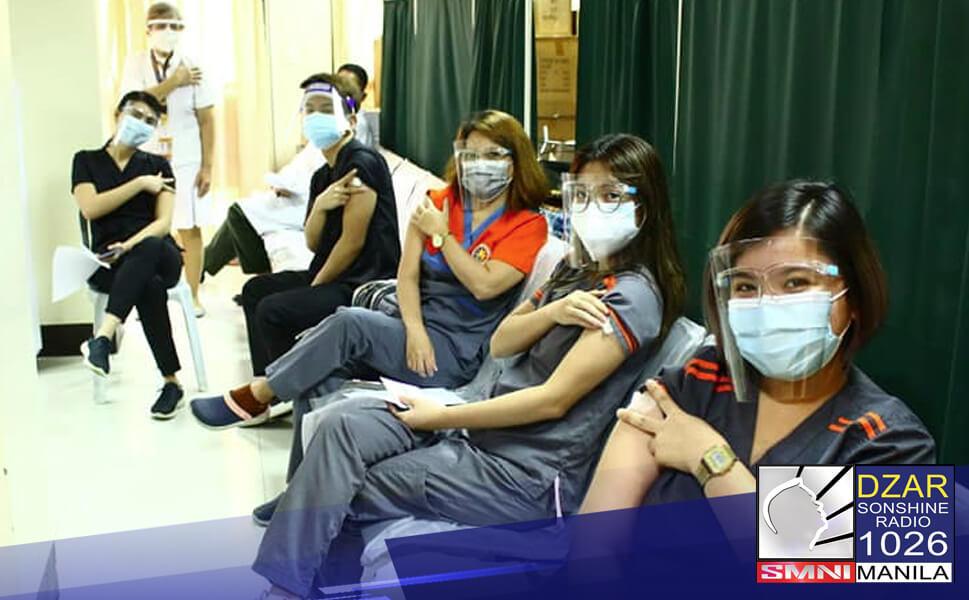 Nasa 86% na ng medical staff ng Caloocan City Medical Center (CCMC) ang nais magpabakuna.