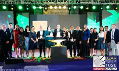 """Nominado ang """"Puso At Sigasig"""", Metrobank Foundation Inc. (MBFI) 2019 Annual Report para sa PLATINUM ANVIL sa katatapos lang na ika-56th Anvil Awards."""