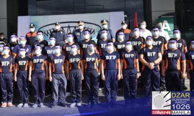 Tinutulan ng karamihan ng mga senador ang panukala na armasan ang mga personnel ng Bureau of Fire Protection (BFP).
