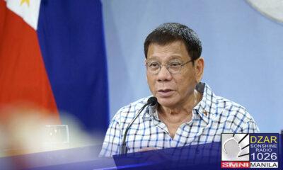 Tatlumpung mga miyembro ng PDP-Laban ang pumirma ng manifesto na sumusuporta kay Pangulong Rodrigo Duterte bilang bise-presidente sa 2022.