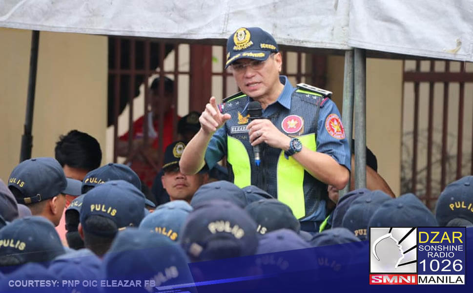 Ito ang matapang na pahayag ni Philippine National Police (PNP) Officer in Charge Lt. Gen. Guillermo Eleazar laban sa mga miyembro ng Communist Party of the Philippines-National People's Army -National Democratic Front (CCP-NPC-NDF).