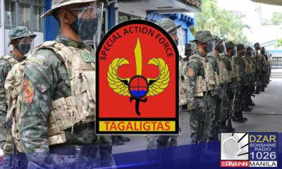 Nagkasagupa ang Philippine National Police - Special Action Force (PNP-SAF) at New People's Army (NPA) sa Calbayog City, Samar.