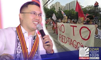 """Kalokohan ang sinasabi ng ilang partylist groups na """"No to red-tagging"""" dahil konektado sila sa Communist Party of the Philippines-New People's Army (CPP-NPA)."""